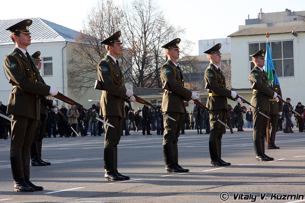 90th anniversary of the foundation of Ryazan Higher Airborne Military School