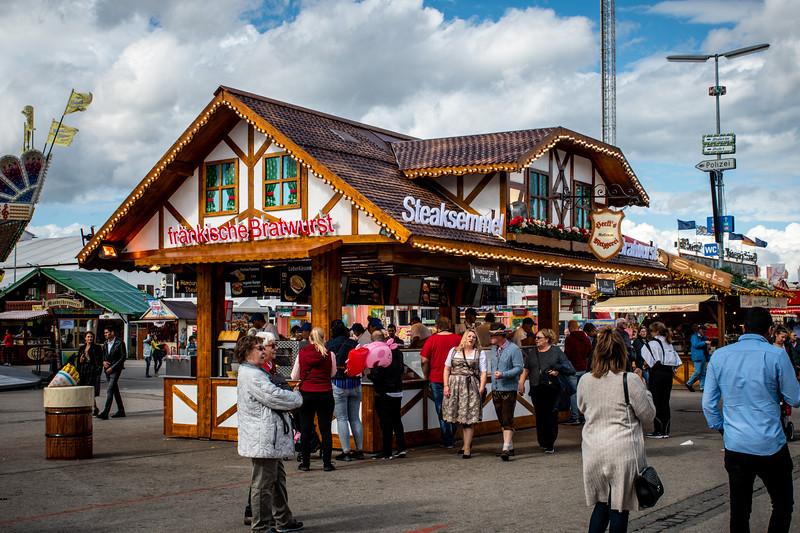 Oktoberfest was like a giant carnival