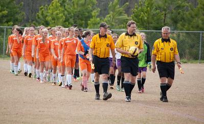 Douglas Co. Girls MS Soccer Final 2014