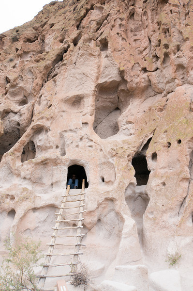 Caves at Bandelier National Monument