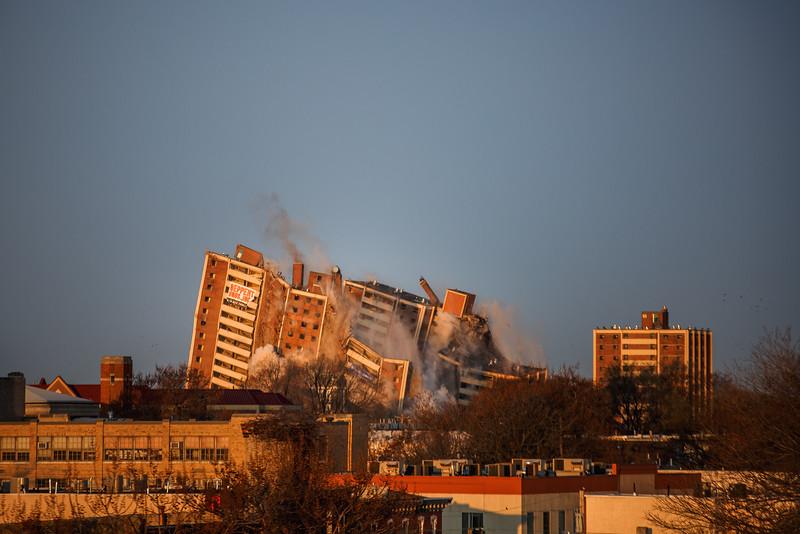 Housing Project Demolition