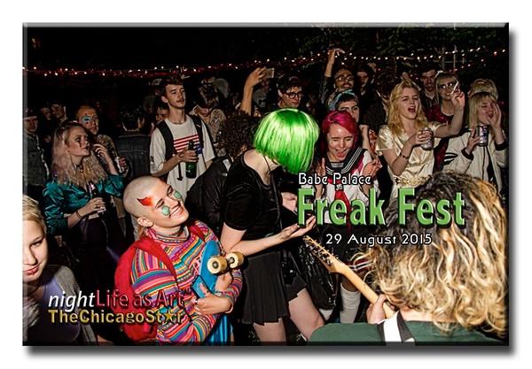 29 August 2015 Babe Palace Freak Fest Loft Party