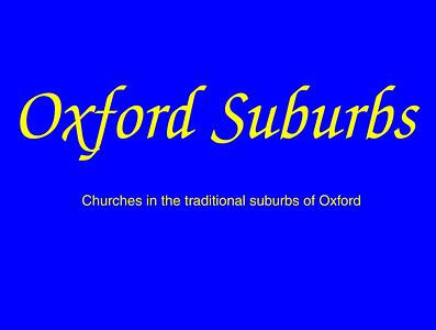 Oxford (Suburbs)