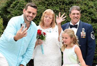 Connie and Ken Tackett Wed