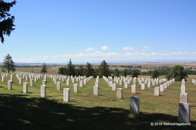 National Veterans Cemetary at Little Bighorn