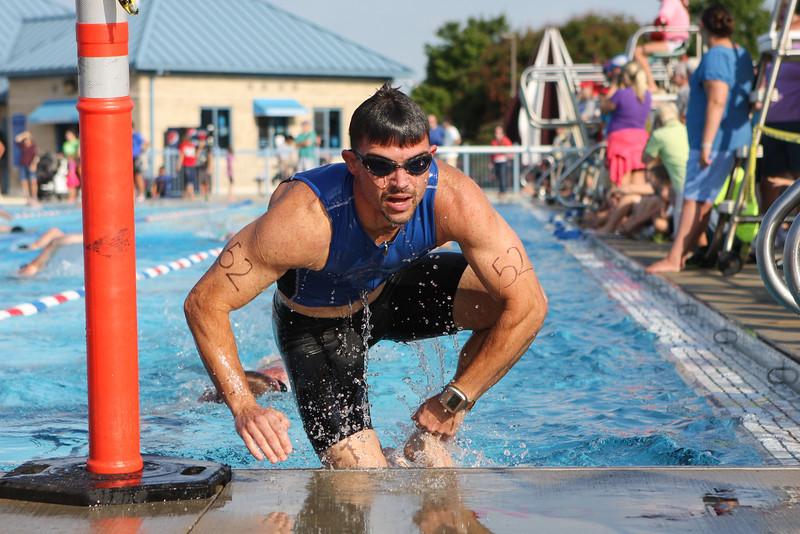 2012 Bowling Green Sprint Triathlon: Swim and Bike Photos