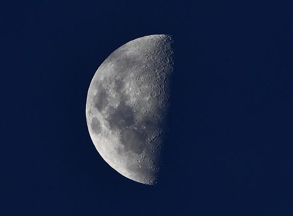 Half moon sky