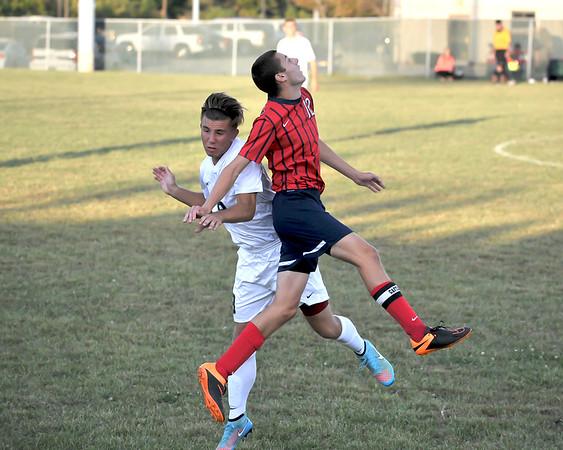 Decatur Central Boy's High Schoo  Soccer vs Plainfield High School