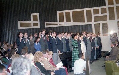 70th Recruit Class swearing in 12-8-1986 4