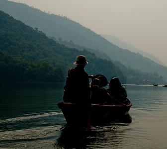 World Peace Pagoda - Lake Phewa