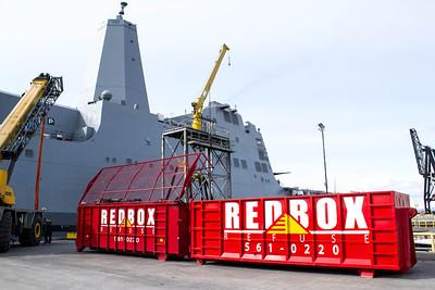 Redbox Refuse Navy Ship