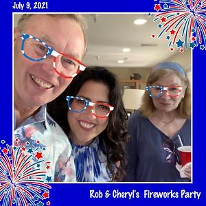 Rob & Cheryl's Fireworks Party