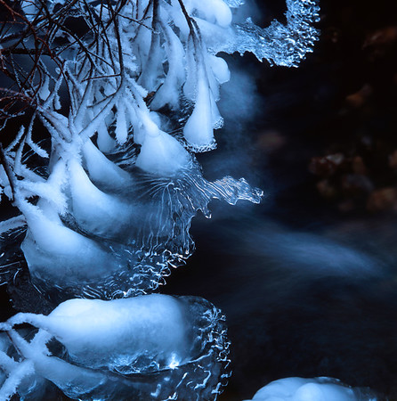 Delicate ice structures