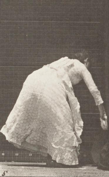 Woman dusting