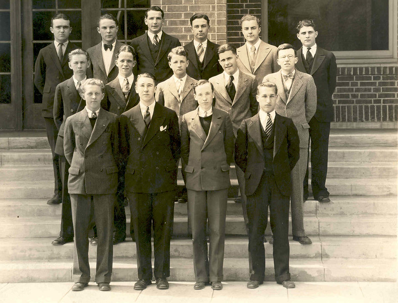 Activities 1928 Chimes Staff  (Anthony George Diener in back.jpg