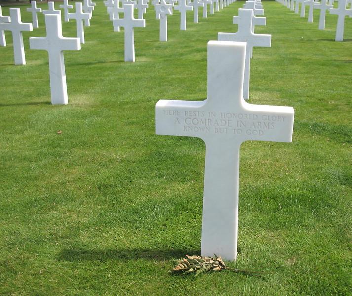 Omaha Beach cemetery - Mimi Nenno