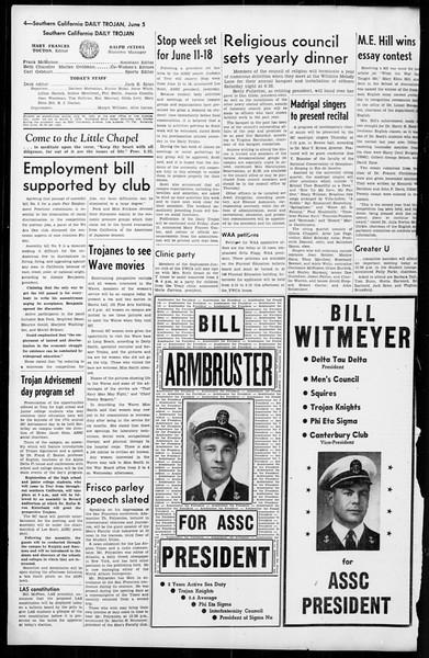 Daily Trojan, Vol. 36, No. 137, June 05, 1945