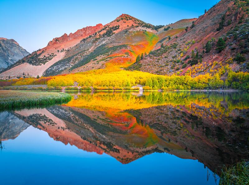 North Lake Autumn Symphony: California High Sierra Autumn Colors! Eastern Sierra Fall Foliage Fine Art Landscape Nature Photography!