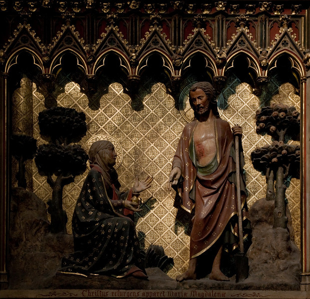 Paris,  Notre-Dame Cathedral, Choir Screen, Noli Me Tangere