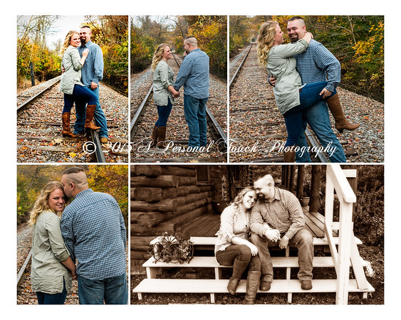 Brittney and Bryans engagement pictures