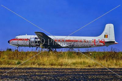 Belgium Air Force Douglas C-118 Liftmaster Airplane Pictures for Sale