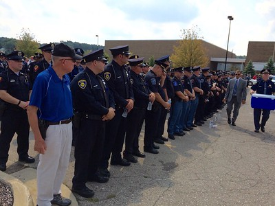 Funeral services for Trooper Chad Wolf