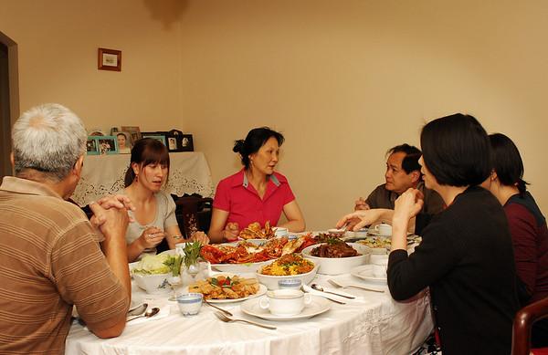 Christmas Eve Dinner 2007