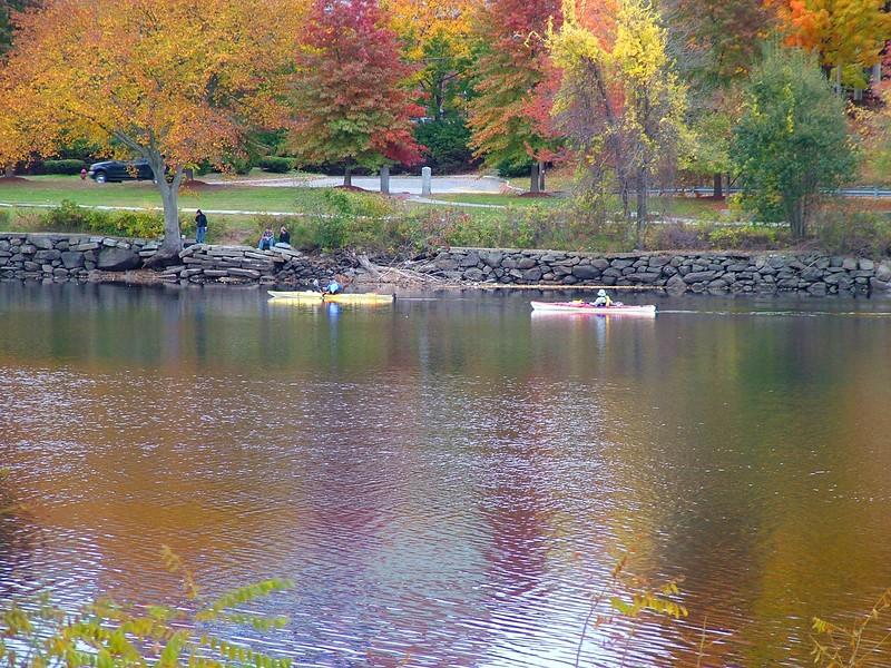 along the Merrimack River
