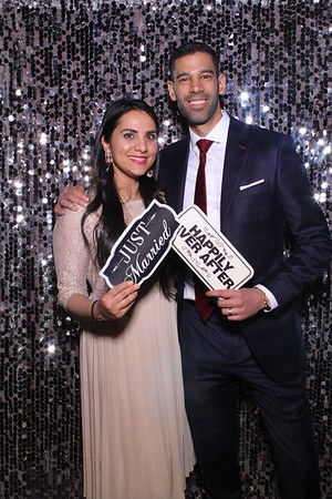 Nitasha and Ravi's Mirror Booth Wedding 2019
