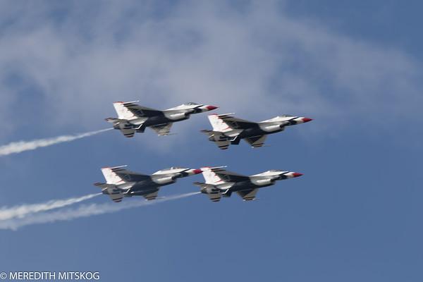 Tico Airshow  Thunderbirds