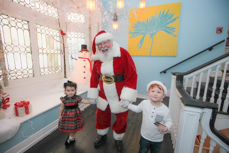 2016 Santa Portraits at Sweet Pete's Candy Shop