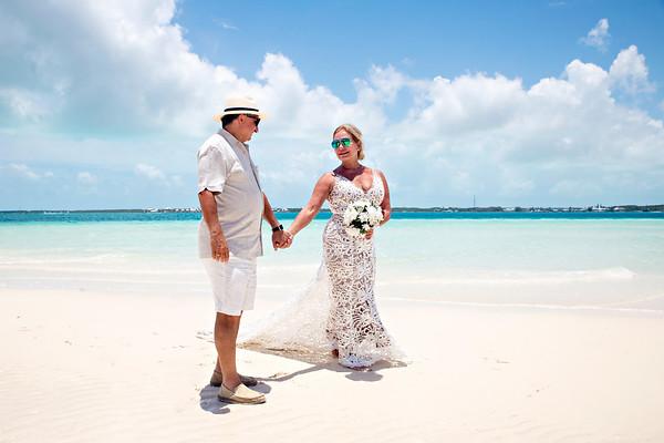 Carmine and Anne-Marie's Destination Wedding. Exuma, Bahamas.