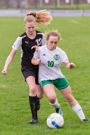 2018-04-25 | Girls MS Soccer | Central Dauphin vs. CD East
