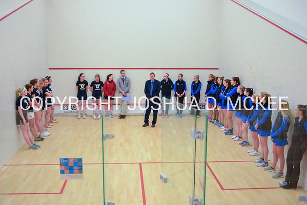 Hamilton Women's Squash v Colgate 12-6-15
