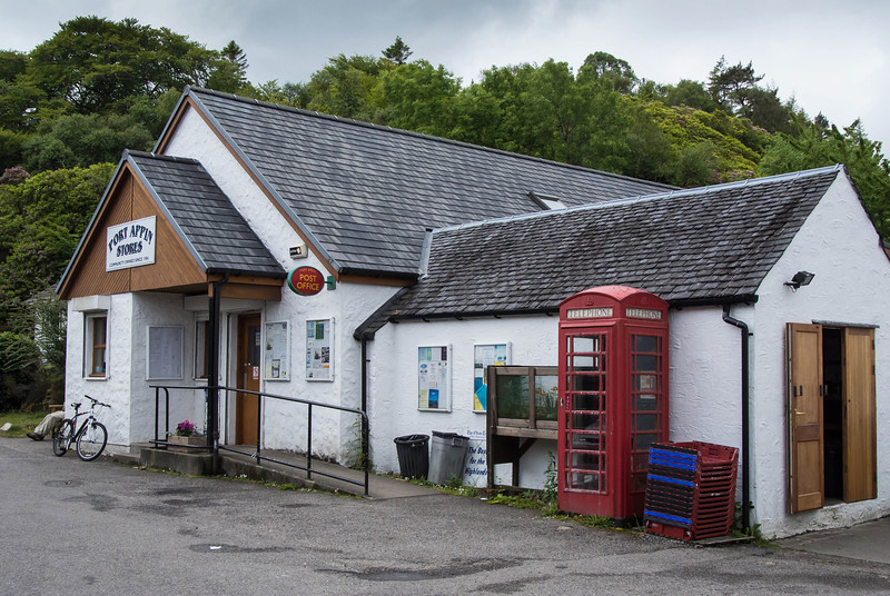 The only commercial establishment in Port Appin