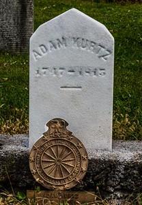 Adam Kurtz Grave *