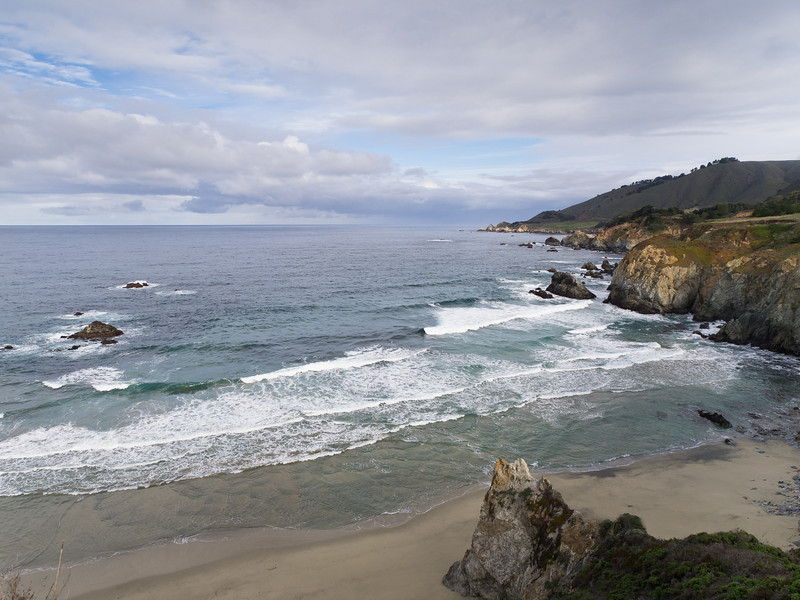 Big Sur beach.