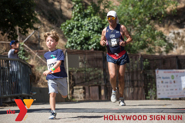 3rd ANNUAL YMCA HOLLYWOOD SIGN RUN