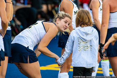 10-14-18 - Michigan Field Hockey Vs Ball State