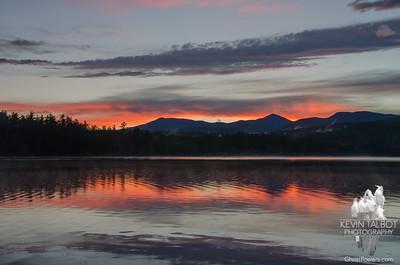 Chocorua Lake Sunset 7-23-16