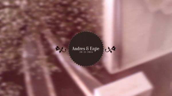 Boda Enjie & Andres