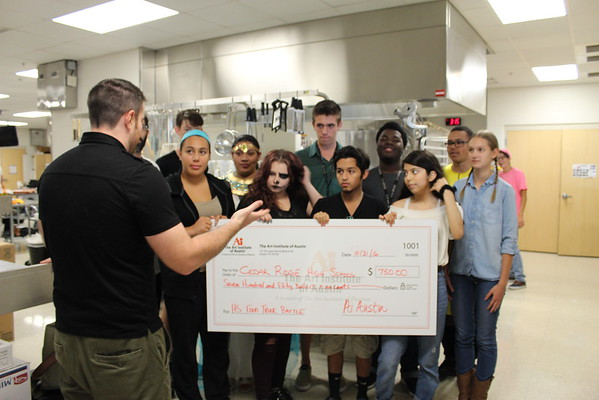 CRHS Culinary and Art Institute Donation