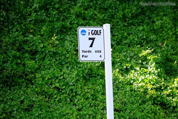 NCAA 2012 Golf Nat Champ - Signage