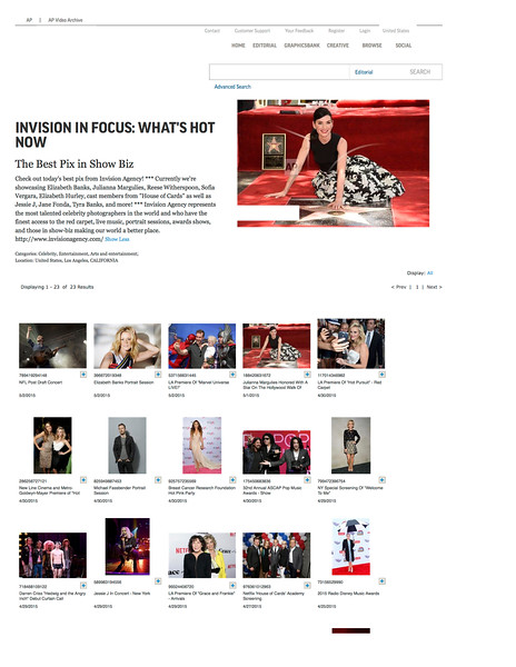 Invision In Focus: What's Hot Now | Buy Photos | AP Images | Collections.jpg