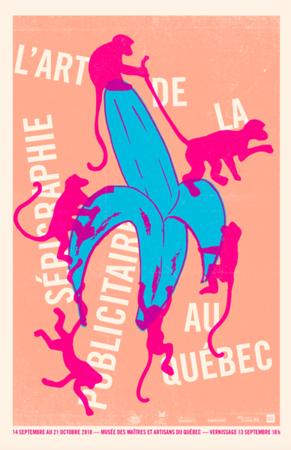 L'ART DE LA SÉRIGRAPHIE PUBLICITAIRE AU QUÉBEC  _  Affiches