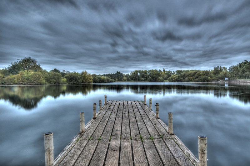 Tongwell Jetty HDR'd