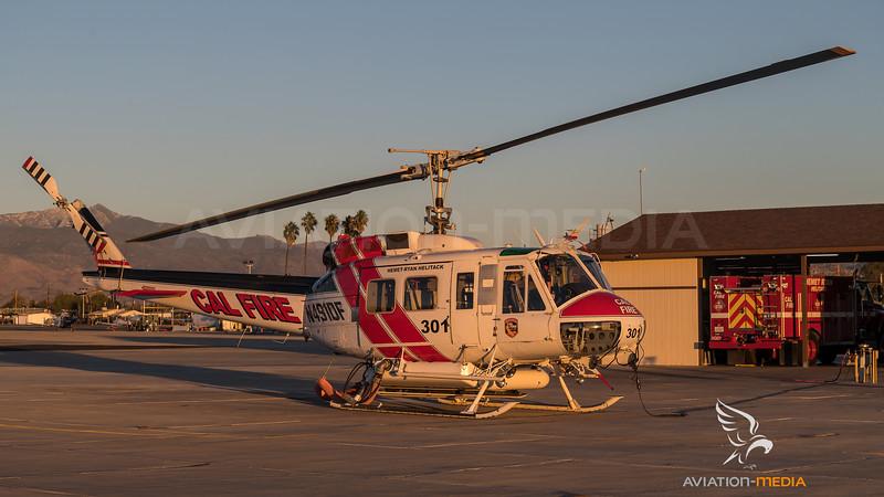 CAL Fire / Bell UH-1H / N491DF