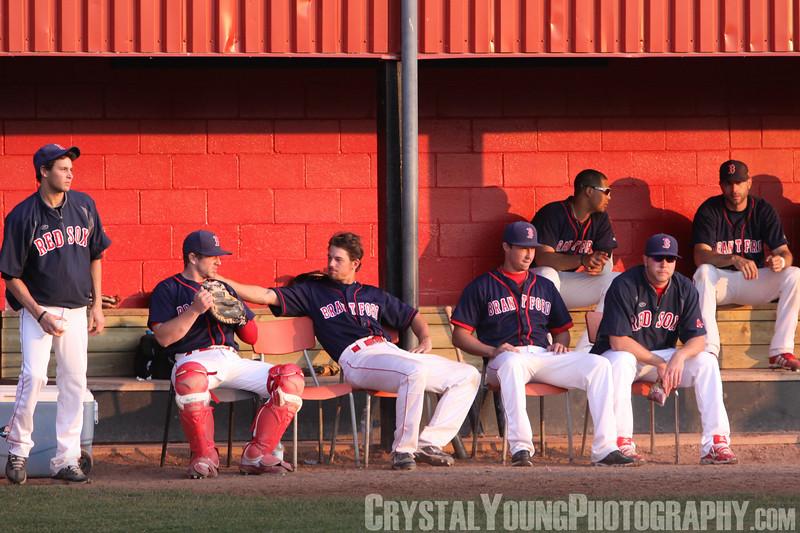 Guelph Royals at Brantford Red Sox June 21, 2013