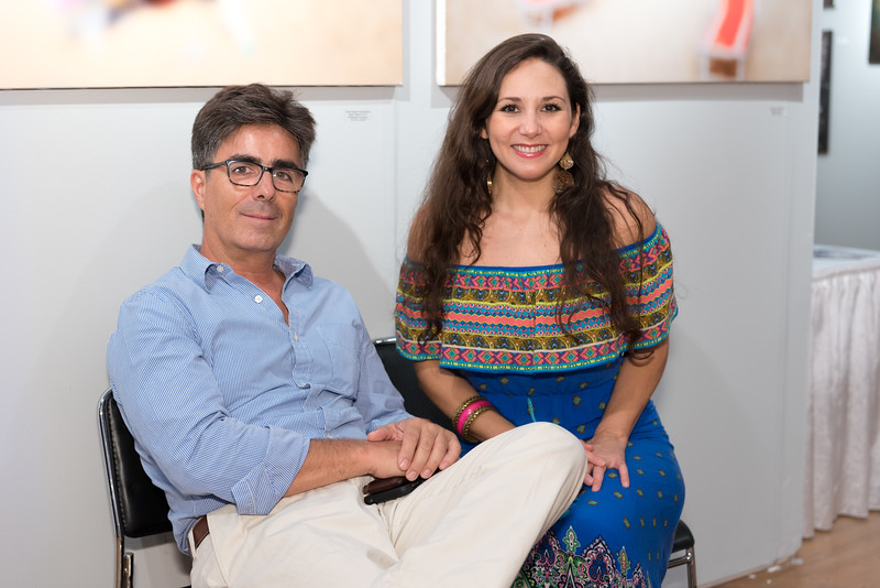 Cristián Balbontín, Bárbara Intriago