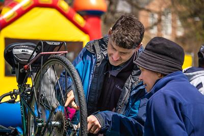 2019-04-27 Bike Repair Clinic at Spring Fling